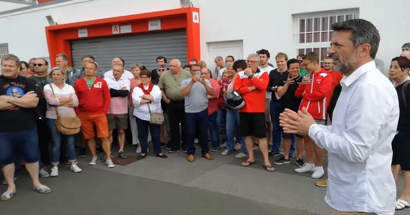 VIDÉO. Pro D2 - Biarritz tente de sauver sa tête sur fond de colère des supporters et de lutte intestine
