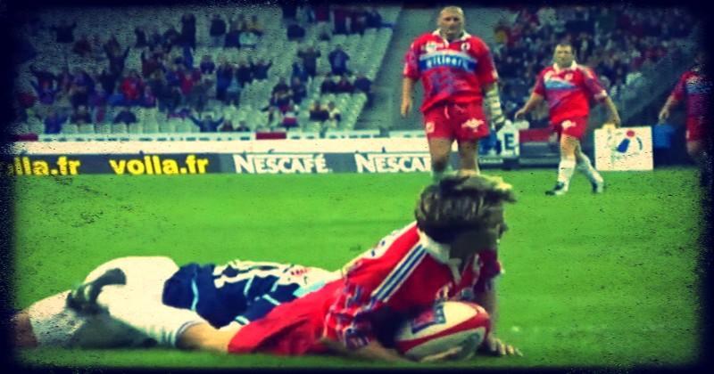 Retour sur l'unique finale jouée en juillet : Stade Français vs Colomiers en 2000 [VIDEO]