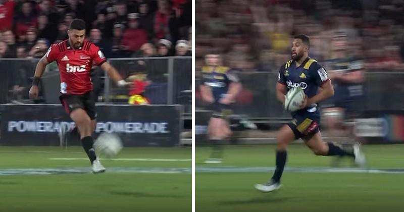 VIDEO. Super Rugby - Richie Mo'unga et Lima Sopoaga se tirent la bourre et assurent le show