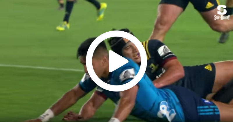 Super Rugby - Blues : Rieko Ioane créé la sensation avec 6 essais en deux matchs ! [VIDÉO]