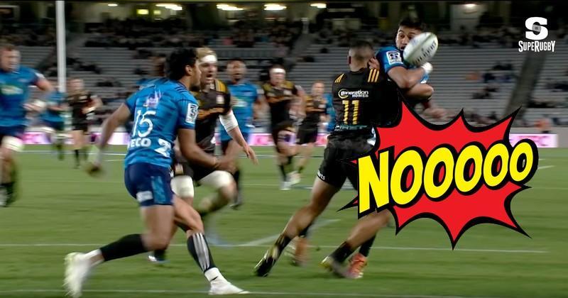 Super Rugby - Rieko Ioane sera dans la compilation des plus beaux essais casquette de la saison [VIDÉO]