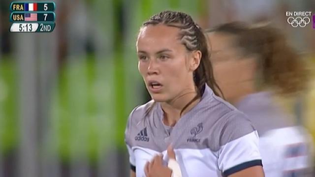 VIDÉO. Rio 2016. Rugby à 7. Battues par les USA, les Françaises terminent à la 6ème place