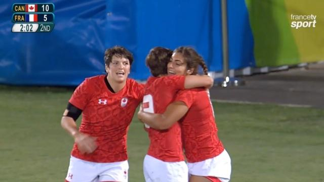 VIDÉO. Rio 2016. C'est fini pour France 7 féminines qui s'incline en 1/4 contre le Canada