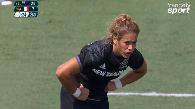 VIDÉO. Rio 2016. Rugby à 7. Les Françaises impuissantes face à la Nouvelle-Zélande (26-7)