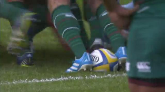 VIDEO. Premiership. Robert Barbieri emmène le ballon avec technique et filouterie pour l'essai de David Mélé
