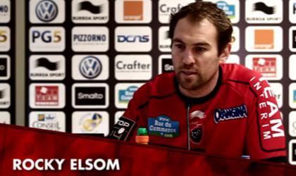 Rocky Elsom et Danie Rossouw s'affichent avec le maillot du RCT