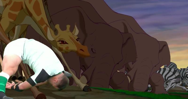 Avez-vous déjà vu : Cian Healy dans le Roi Lion ? [Vidéo]