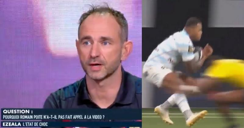 VIDEO. Top 14 - Romain Poite clarifie la percussion de Vakatawa sur Ezeala