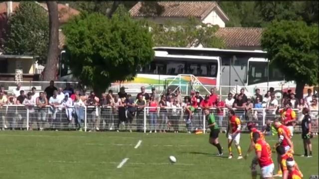 VIDÉO. ESPOIRS. Romuald Seguy claque une pénalité de 60m et envoie l'USAP en finale face à Castres