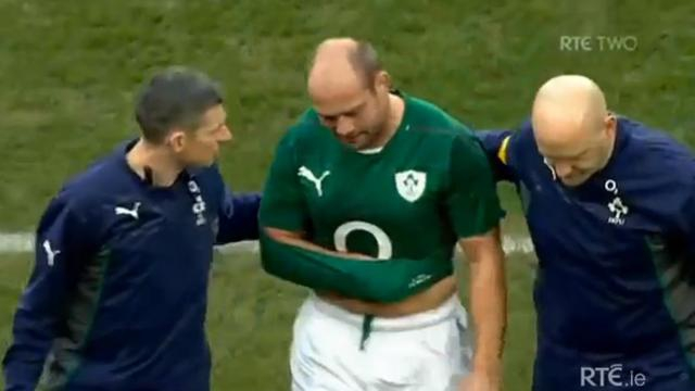 VIDEO. Irlande - Nouvelle-Zélande : Incroyable, Rory Best se casse le bras mais continue à jouer face aux All Blacks