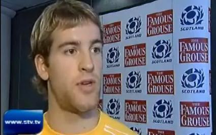 Rory Lamont renonce au rugby à cause de sa fracture