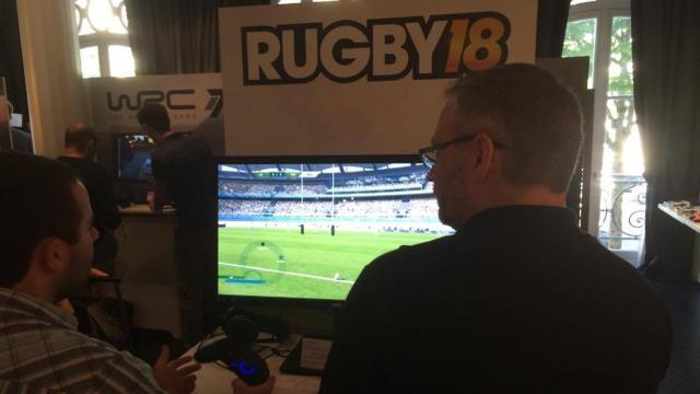 On a testé pour vous... Rugby 18, le nouveau jeu vidéo sur le ballon ovale !