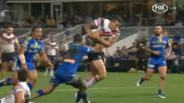 VIDEO. Rugby à 13. Sonny Bill Williams malmené comme rarement auparavant dans un match un peu fou de NRL