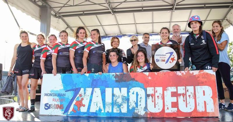 RUGBY À 7 : zoom sur la nouvelle section féminine d'Euskadi Sevens