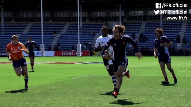 VIDEO. Rugby à 7 - Julien Jané dans tous les bons coups au Tokyo Sevens avec France 7