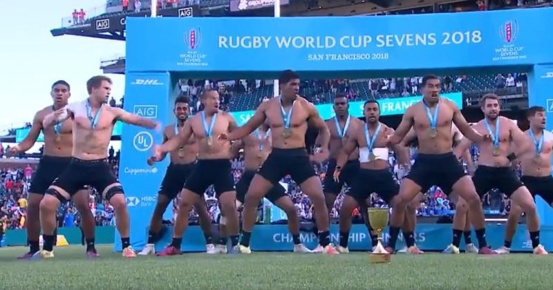 VIDÉO. Rugby à 7 : la Nouvelle-Zélande sacrée championne du monde au terme d'une finale maîtrisée