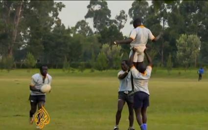 VIDEO. Le rugby à 7, une nouvelle chance de briller pour le Kenya