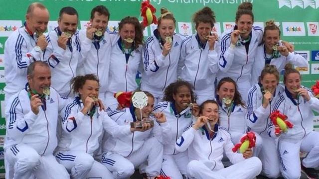 Rugby à 7. Les Françaises sacrées championnes du monde universitaire