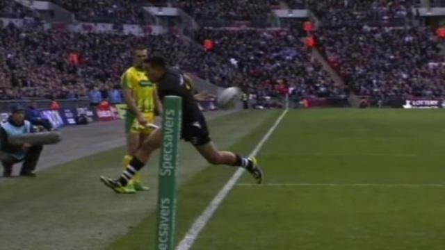 VIDEO. Coupe du monde Rugby à XIII - Le sauvetage de touche irréel de Dean Whare emmène les Kiwis en finale