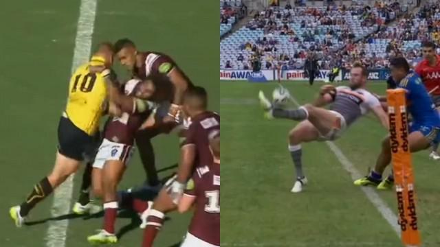 VIDEO. Rugby à XIII. La passe décisive acrobatique de Pat Richards, Luke Page pose son cerveau et charge