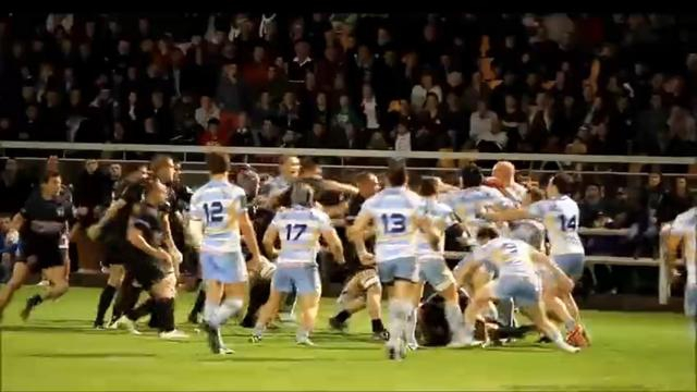 Rugby amateur #10 : La grosse bagarre générale entre Bergerac et Libourne en fédérale 2