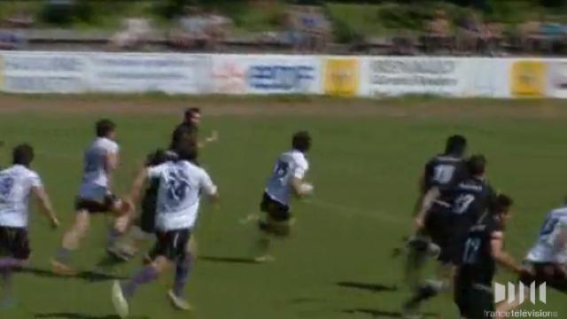 Rugby Amateur # 17 : Le superbe essai d'Ayestaran donne la victoire à Soyaux-Angoulème à Rouen