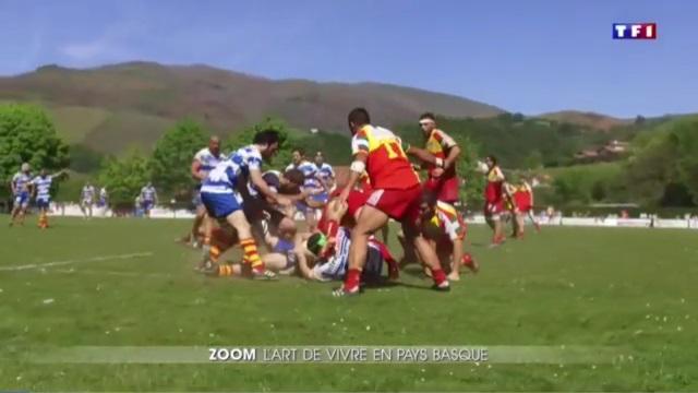 VIDEO. Rugby Amateur : l'art de vivre en Pays Basque, le zoom du JT de TF1 sur le ballon ovale