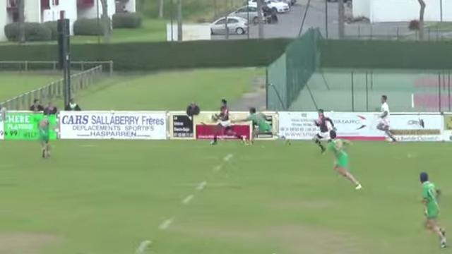 Rugby amateur #14 : Un superbe essai de 80m du Stade hendayais, la démonstration inutile de Saint-Junien