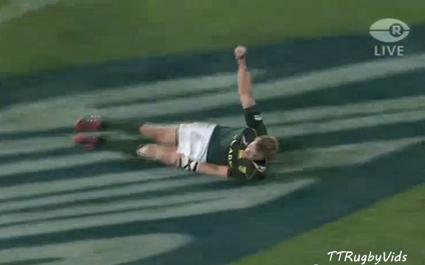VIDEO. Les Springboks explosent les Wallabies en moins de 10 minutes