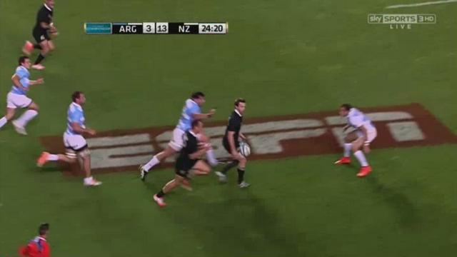 VIDEO. Rugby Championship. La contre-attaque éclair des All Blacks avec la passe magique de Ben Smith pour Dagg