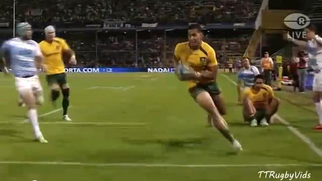 RESUME VIDEO. Rugby Championship : Le festival offensif des Wallabies face aux Pumas