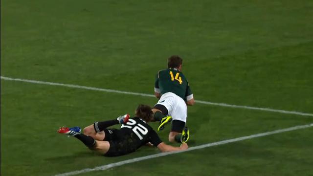 VIDEO. Rugby Championship : L'entrée fracassante du All Black Beauden Barrett face aux Springboks