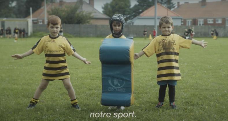 VIDÉO. La nouvelle campagne de recrutement géniale du Rugby Club Frameries !
