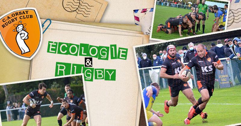 Engagé dans le développement durable, le club d&#39;Orsay se bat pour l&#39;écologie dans le <b>rugby</b>