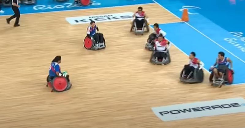 Jeux Paralympiques : Programme TV de l'équipe de France de rugby-fauteuil