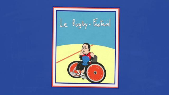 VIDEO. L'équipe de France de rugby-fauteuil à la conquête des Jeux Paralympiques