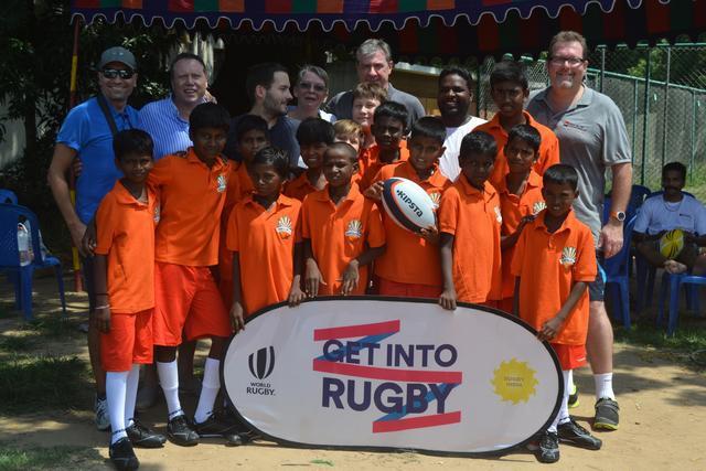 Le Rugby Slums Club Chennai continue d'aider les enfants des bidonvilles en Inde