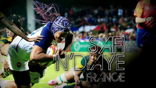 VIDEO. Coupe du monde de rugby féminin. Safi N'Diaye nominée pour le titre de meilleure joueuse IRB de l'année