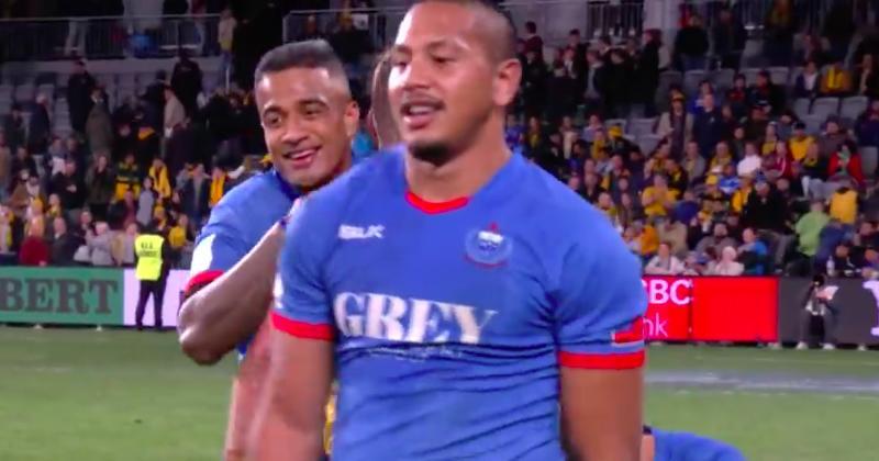 COMPOSITION - Les Samoans Tim Nanai-Williams et Afa Amosa débuteront face à la Russie