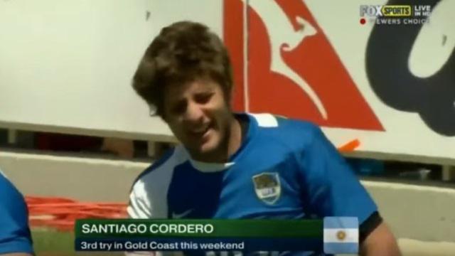 VIDEO. Argentine : les images d'archives de Santiago Cordero, pépite de la Coupe du monde