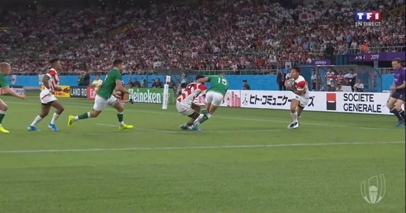 Sautée, passe sur un pas, Fukuoka libère le Japon face à l'Irlande [VIDÉO]
