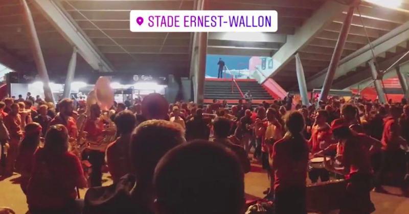 J'ai assisté à la première victoire du Stade Toulousain cette saison, un régal !