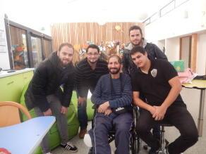 LE SDRB XV solidaire des jeunes en situation de handicap