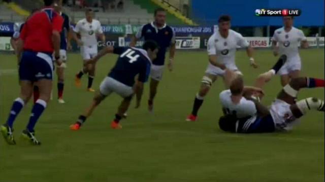 VIDEO. Championnat du monde U20. Sekou Macalou sauve la patrie avec un superbe sauvetage