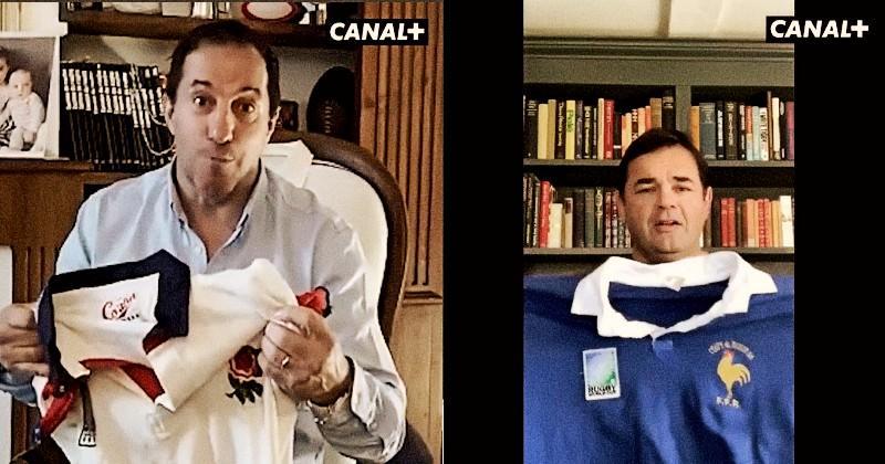 Le moment nostalgie entre Philippe Sella et Will Carling nous redonne le sourire [VIDÉO]