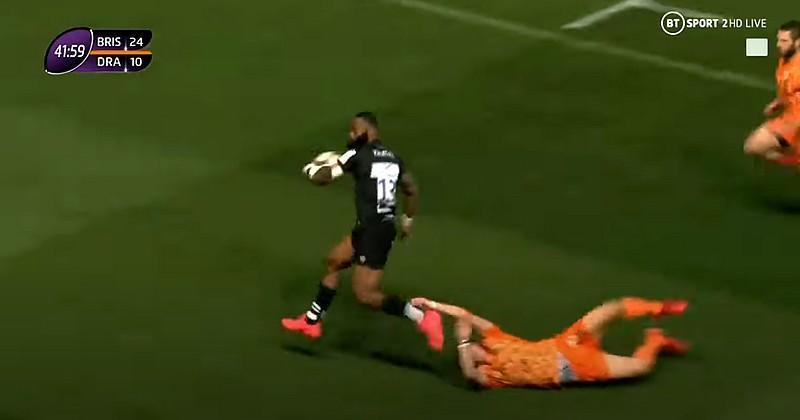 Challenge Cup - Semi Radradra et les Bristol Bears ne font qu'une bouchée des Dragons [VIDEO]