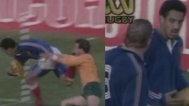 VIDÉO. FLASHBACK. 1990. Serge Blanco marque un essai sur un sprint de 100 mètres contre l'Australie