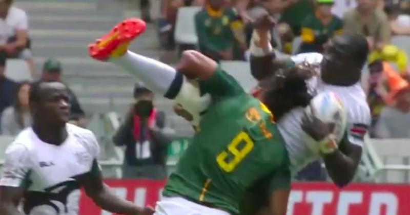Justin Geduld venge ses potes en retournant Alvin Otieno alias Buffalo ! [Vidéo]