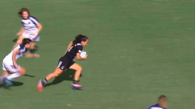 VIDEO. Sao Paulo 7s : L'essai ultrarapide de la Nouvelle-Zélande face à France 7 Féminines