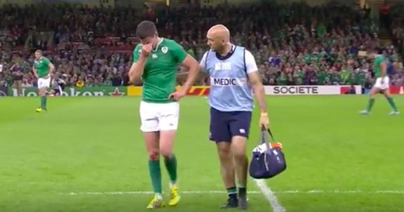 Coupe du monde - La blessure de Jonathan Sexton perturbe les préparatifs irlandais